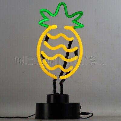 New Pineapple neon sign sculpture hand blown glass art