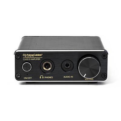 Mini Amplifier 30W Dual Channel Class-D Hi-Fi Stereo Digital Audio+Power Supply