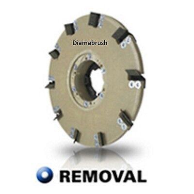 "Diamabrush 17"" Mastic, Concrete  Prep Tool  On Floors 25 Grit"