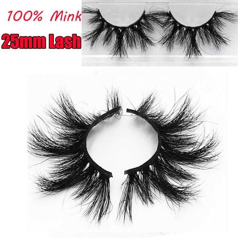 Thick Long Glam 25mm Lash Lash Extension False Eyelashes 100