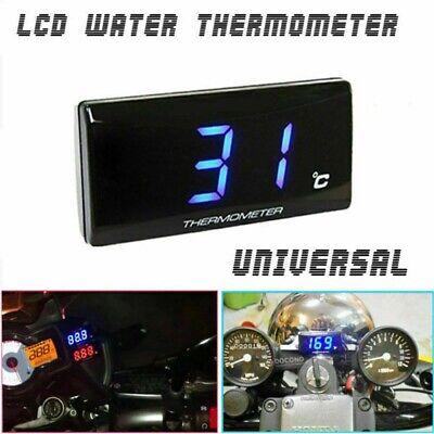 DC 12V Digital Water Temperature Gauge Temp Meter Motorcycle Thermometer