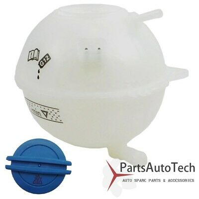 Audi Expansion Tank - Coolant Reservoir Expansion Tank + Cap For Audi TT TT Quattro VW Jetta Golf NEW