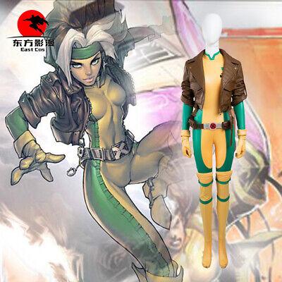 DFYM Xmen Costume X-men Rogue Coat Cosplay Anime Customized Halloween Jacket - X Men Rogue Halloween Costume