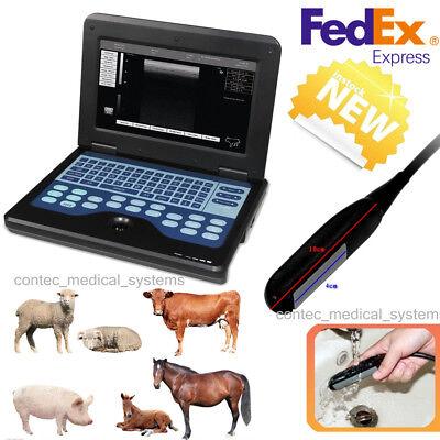 Portable Laptop Machine Digital Veterinary Ultrasound Scanner7.5 Rectal Animal