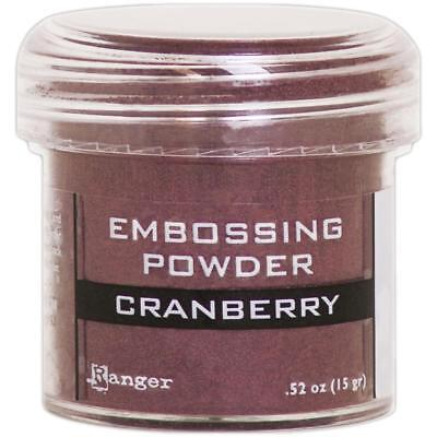 RANGER Embossing Powder CRANBERRY Made in USA ()