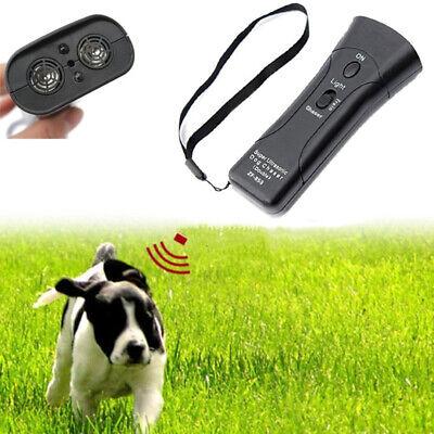 Ultrasonidos Repelente Ahuyentador de Perros Adiestramiento Control Anti Barking