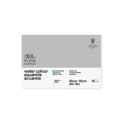 Winsor & Newton Classic Water Colour Paper Cold Pressed 300gsm A5 Postcard Pad
