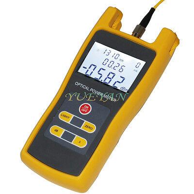 Handheld Optical Power Meter Jw3208 Laser Fiber Optic Tool Tester -70 To 6dbm