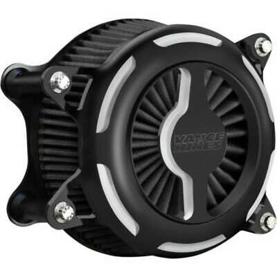 Vance & Hines Black V02 Blade Air Cleaner Filter Intake Harley Softail 18-20 M8