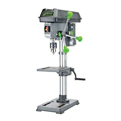 10 In. 5-speed Benchtop Drill Press With Light Adjustable Depth Cast Iron Base