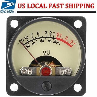Analog Vu Meter Panel Kit Backlit Decibel Level Tester Us Ship
