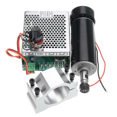 Machifit Er11 Chuck Cnc 500w Spindle Motor With 52mm Clamps And Power Supply Spe