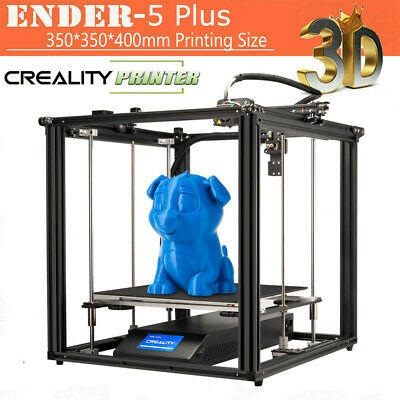 Creality 3D Ender-5 Plus 3D Printer DIY Kit 350*350*400mm Large Build Volume US