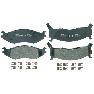 Disc Brake Pad Set-Rear Drum Front Federated MD521