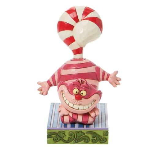 Cheshire Cat Candy Cane Tail  Disney 6008984 New 2021 Jim Shore Christmas
