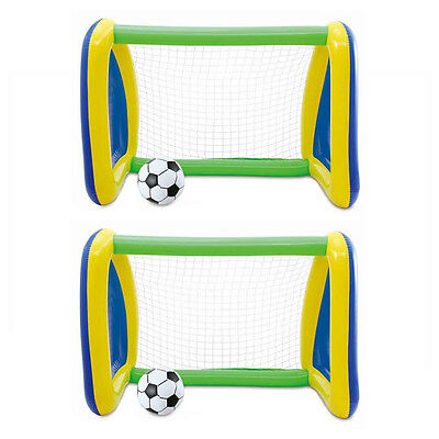 Inflatable Pack And Play (Two Pack: Big Play Sports Jumbo Inflatable Pool Goal and Ball Soccer)