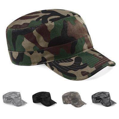 Camouflage Military Style Cap (Army Style Camouflage Jungle Cap Mütze Basecap Camo Military Kuba Kappe )