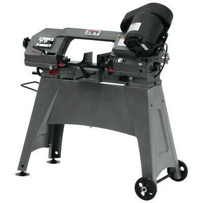 Jet 414458 5 in. x 6 in. 1/2 HP 1-Phase Horizontal/Vertical Band Saw New 1 Phase Horizontal Band Saw