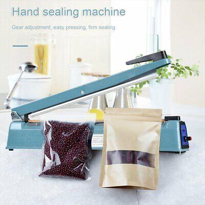 16 Heat Sealing Machine Impulse Sealer Machine Poly Tubing Plastic Bag Kit Us