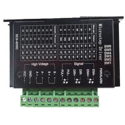 Diy Driver Tb6600 Single Axis 4a 942vdc For Stepper Motor Controller 57byg