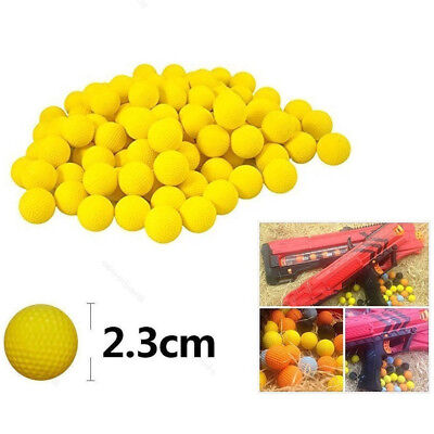 100Pcs Bullet Balls RoundCompatible For Nerf Rival Apollo Child Toys Gun Refill