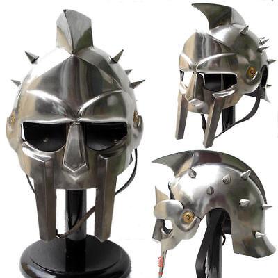 Mittelalterlicher Gladiator Helm Griechischer römischer Ritter Maximus Kostüm