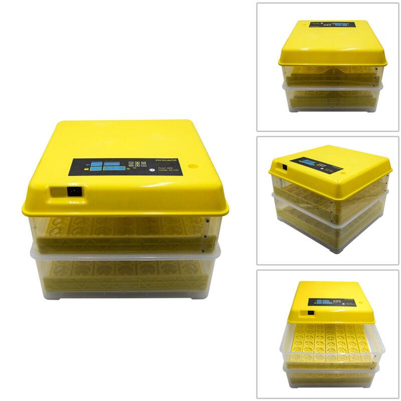 112 Digital Chicken Egg Incubator Hatcher Temperature Control Automatic Turning