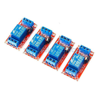 (DC 5V/9V/12V/24V 1 channel Optocoupler Relay Module Support high and low trigger)