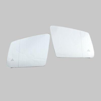 Paar Außenspiegel Spiegelglas Spurwechselassistent Für Mercedes GLE W166 15-19