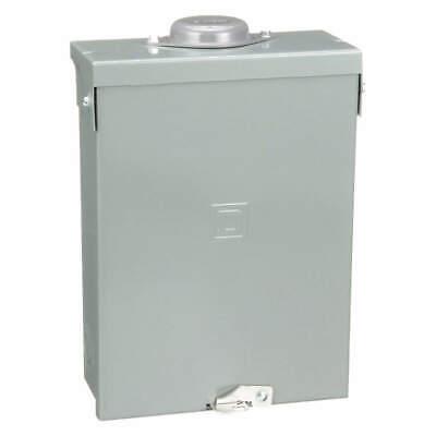 Square D Schneider Electric Homeline Load Center 240v 100a 1ph 6sp Hom612l100rb