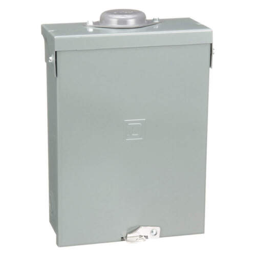 Square D Schneider Electric Homeline Load Center 240V 100A 1PH 6SP  HOM612L100RB