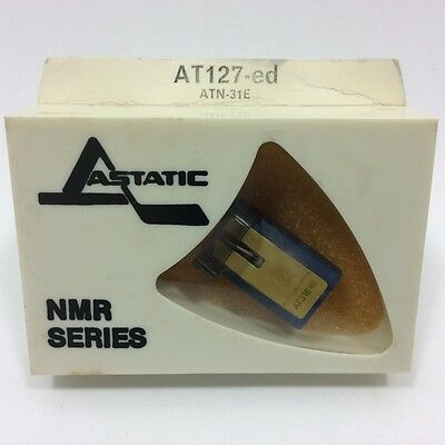 AUDIO-TECHNICA needle ATN-31E IN ASTATIC PKG AT 127-ED, NOS/NIB genuine AT