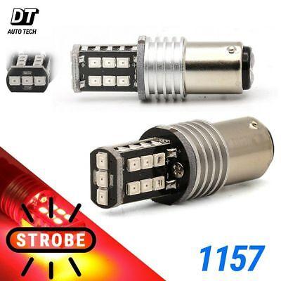 1157 LED Strobe Flashing Blinking Brake Tail Light/Parking Safety Warning (Phoenix Bulbs)