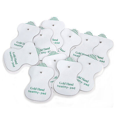 50Pcs Replacement Electrode Pads Tens Unit Acupuncture Therapy Puls Massager