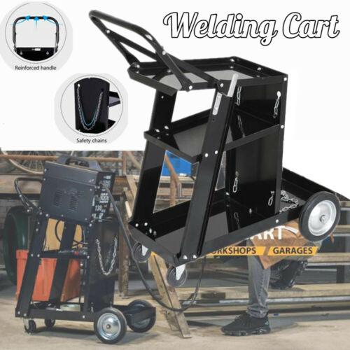 Universal Welding Welder Cart Plasma Cutter Tank Storage For MIG TIG ARC
