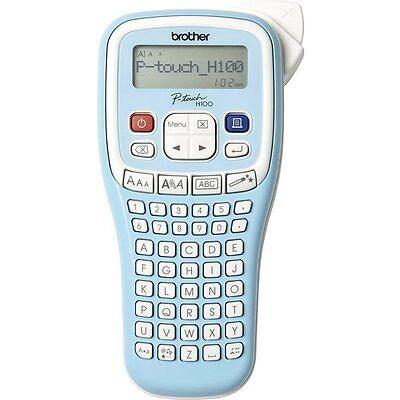 Brother P-touch PT-H100LB Beschriftungsgerät Schriftband TZ 3.5 6 9 12 ben 6xAAA