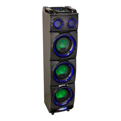 08 300W Active Speaker Battery Bluetooth Party Sound System (Party Standups)