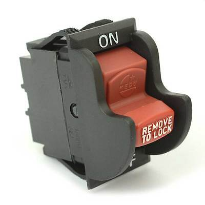 On-off Toggle Switch Rep Delta 489105-00 1343758 Optional Lock Ryobi - 18803
