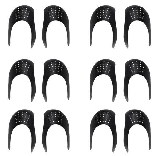 6 Pair Shoe Toe Crease Protector Support Anti-wrinkle Sneake