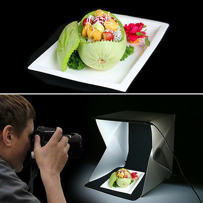 Portable Mini Photography Photo Studio Shooting Tent Light Cube Box SoftBox Kit