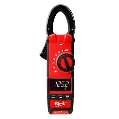 Milwaukee 2237-20 Clamp Meter 600 Amp Acdc Digital