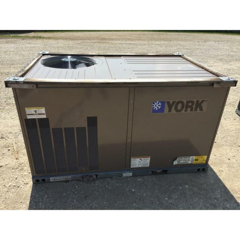 YORK XYE06A4C1AA1A111A2 5 TON CONVERTIBLE PACKAGED HEAT PUMP, 15 SEER 3 PHASE