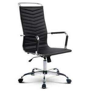 Eames Replica Office Chair Executive High Back Seating PU Leather Adelaide CBD Adelaide City Preview