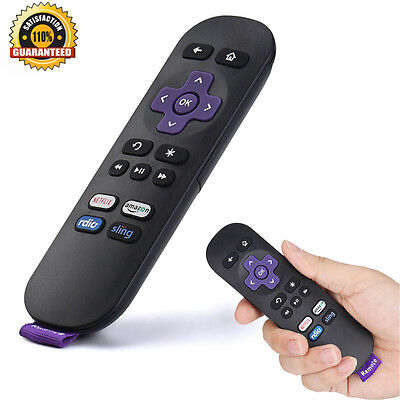 Hot Replacement Remote Control for ROKU 1/2/3/4 LT HD XD XS w/ Shortcut Buttons