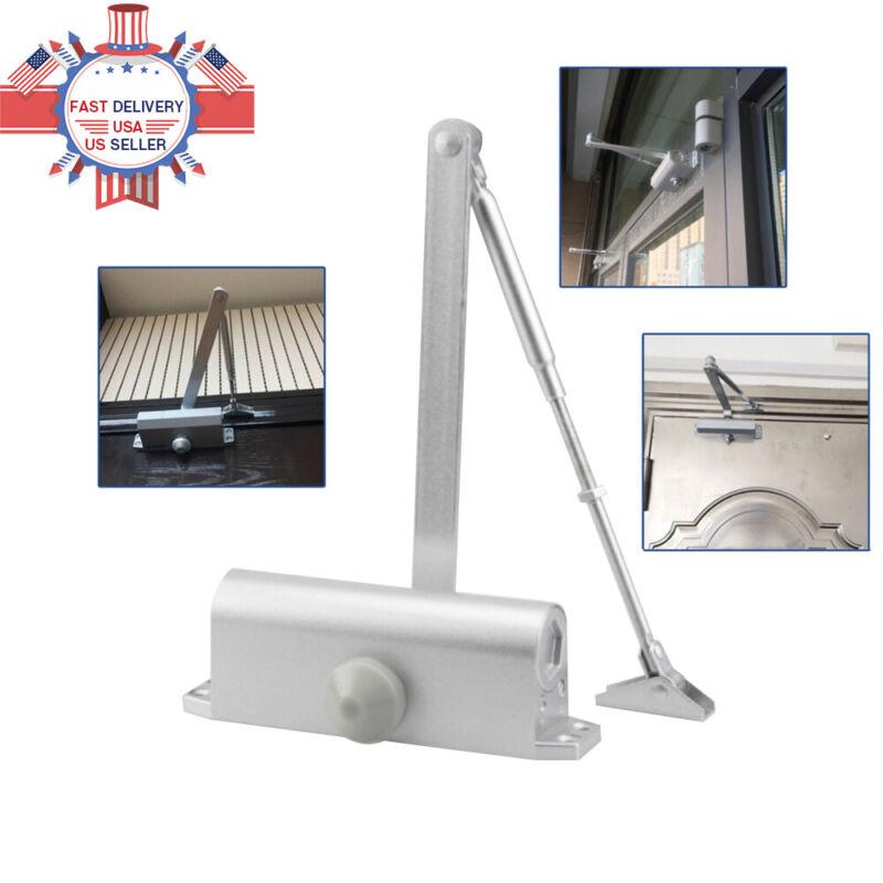 Size 4 Commercial Door Closer Heavy Duty Independent Adjust Control Home 65-85Kg
