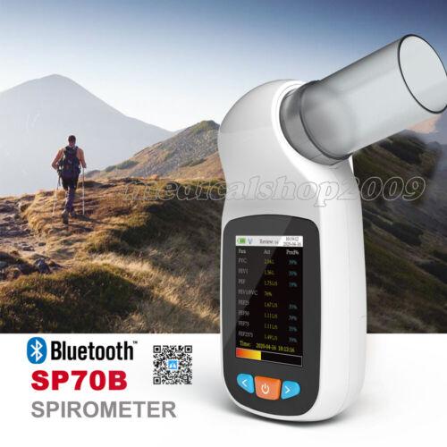 CONTEC Handheld Digital Spirometer Pulmonary Function Spirometry APP Software