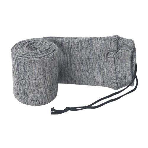 "Tourbon 52"" Gun Socks Pack Silicone Treated Sleeve Rifle/Shotgun Bag Gray in USA"
