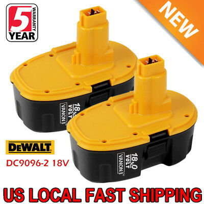 2Xupgraded For Dewalt 18V Xrp Battery Dc9096 2 Dc9098 Dc9099 Dw9095 Dw9096 Drill