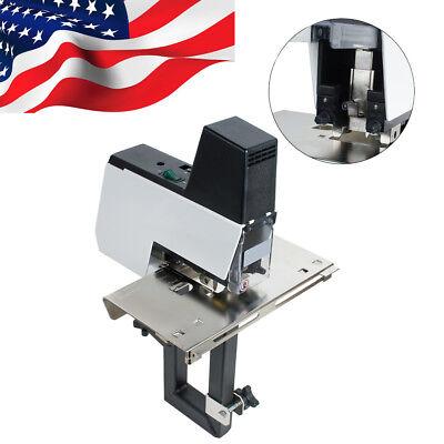 Flatsaddle Electric Rapid Stapler Binder Book Binding Machine Wpedal 2-50sheet