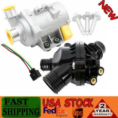 Water Pump W/ Thermostat  & Bolts Fit BMW X3 Z4 328i 128i 528i 528xi 11517586925